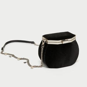 ZARA Crossbody Bag With Clasp